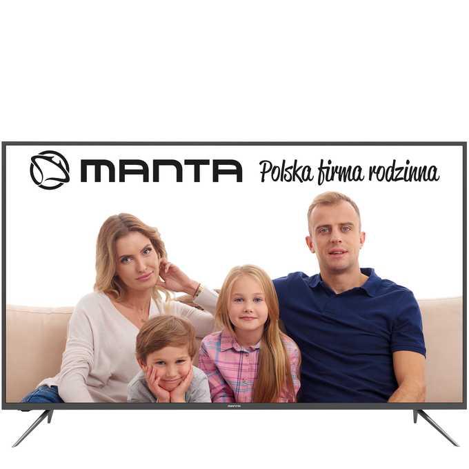 Telewizory Manta – niedrogi sprzęt w atrakcyjnej cenie
